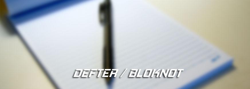 Promosyon Bloknot/Defter