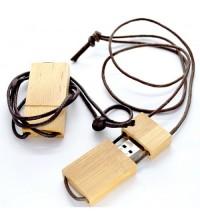 602 Lanyard Wood Usb